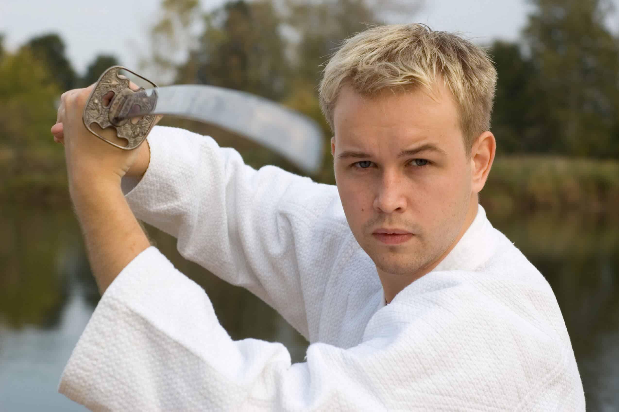 Martial Arts Lessons for Adults in Carmichael CA - Samurai Sword Posing Blog