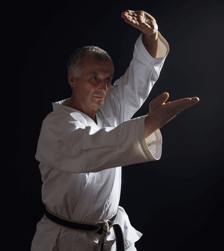 Martial Arts Lessons for Adults in Carmichael CA - Older Man