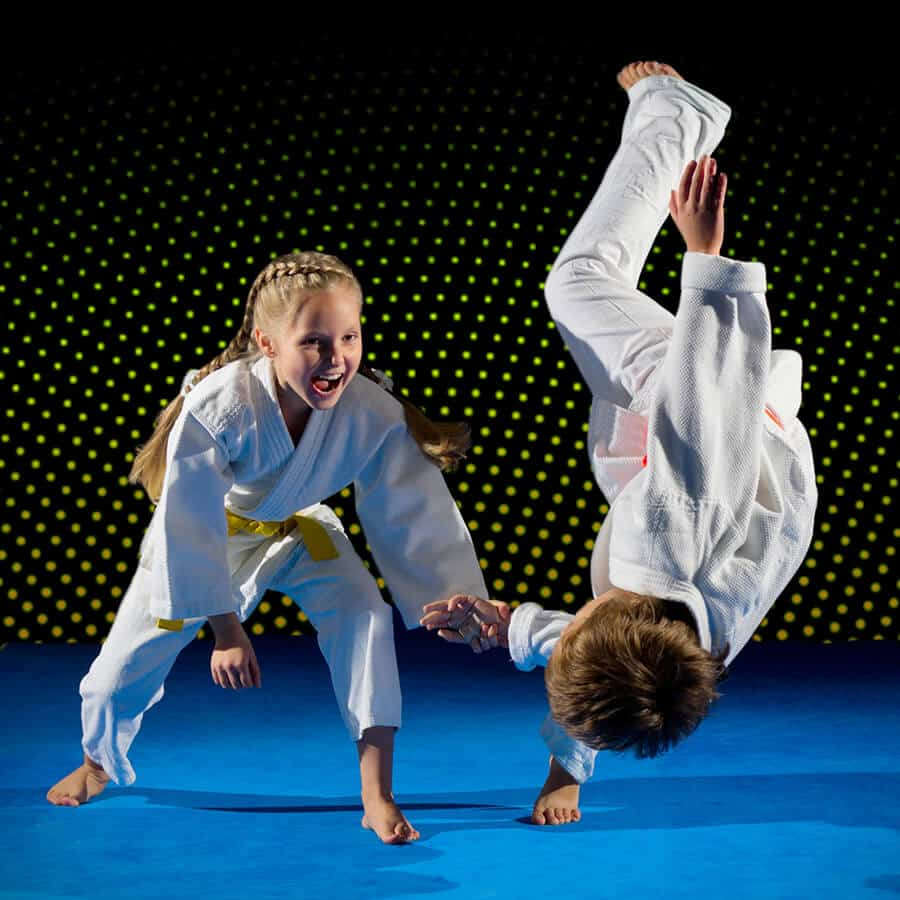 Martial Arts Lessons for Kids in Carmichael CA - Judo Toss Kids Girl