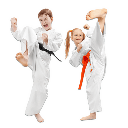Martial Arts Lessons for Kids in Carmichael CA - Kicks High Kicking Together