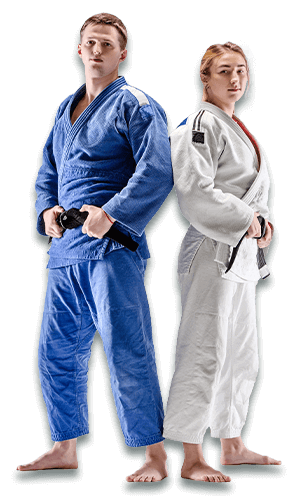 Brazilian Jiu Jitsu Lessons for Adults in Carmichael CA - BJJ Man and Woman Banner Page