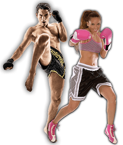Fitness Kickboxing Lessons for Adults in Carmichael CA - Kickboxing Men and Women Banner Page