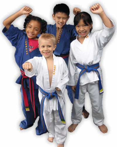 Martial Arts Summer Camp for Kids in Carmichael CA - Happy Group of Kids Banner Summer Camp Page
